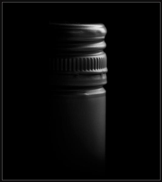 Wine Bottle Detail by Morpyre