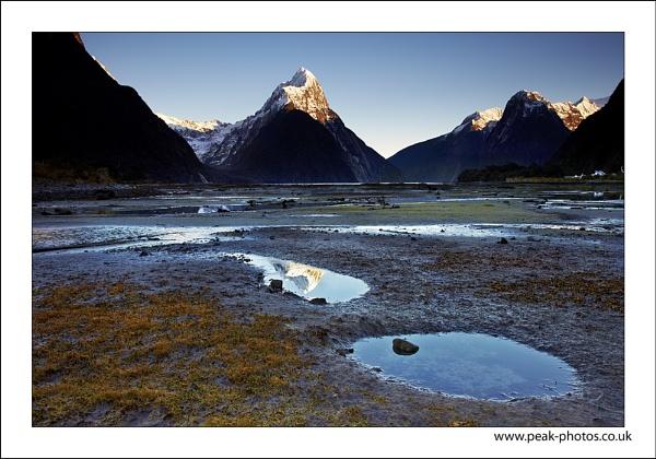 Mitre Peak Reflection by richardwheel
