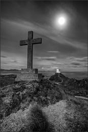 Llanddwyn by Moonlight