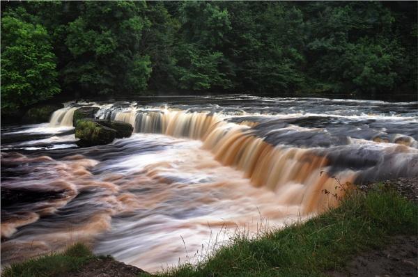 Upper Aysgarth Falls by phil99