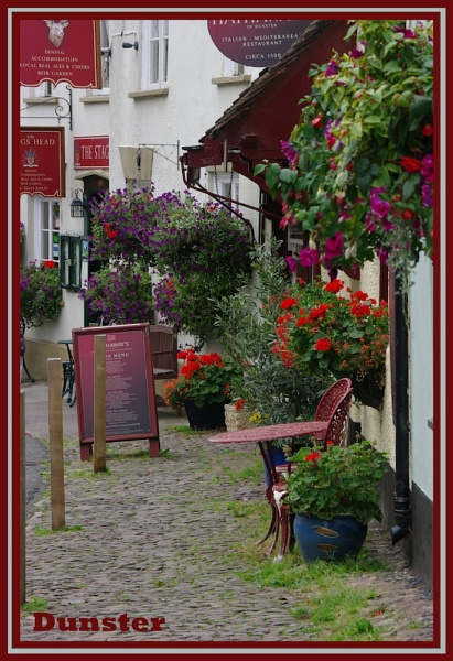 Dunster High Street , Somerset. by dbedford