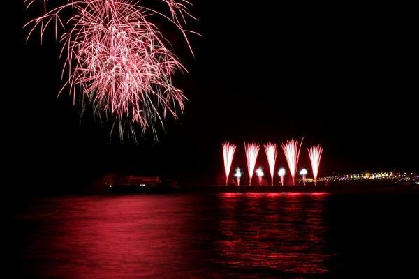 Blackpool Fireworks by WorldInFocus