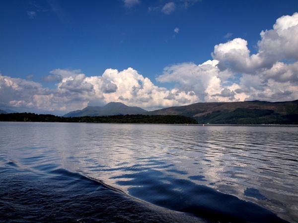 Loch Lomond from Lomond cruise boat by steve51158