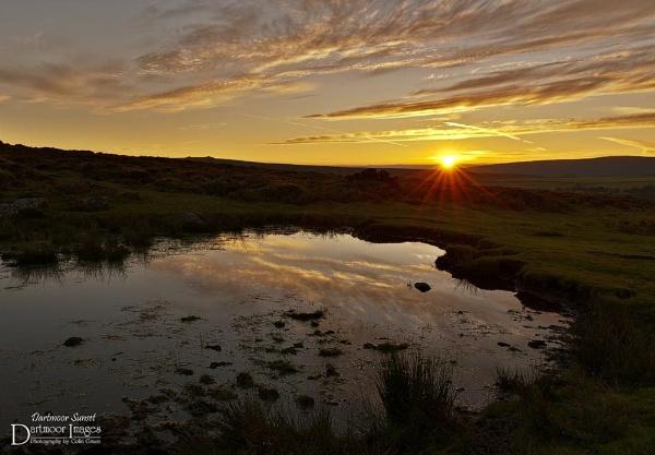 Dartmoor Sunset by elkiebrooks