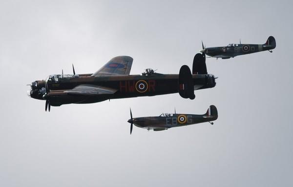 Battle of Britain Memorial flight by brownbear
