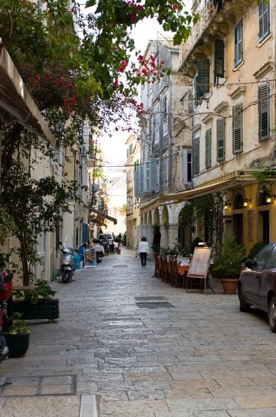 Corfu Town, Greek Island of Corfu. by mart87uk