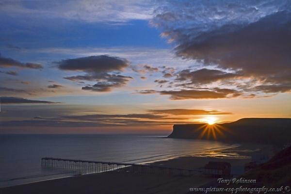 Sunrise over Saltburn by AR_Photography