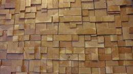 3D Wooden Wall