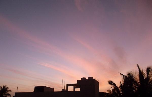 Morning streaks by santosh275