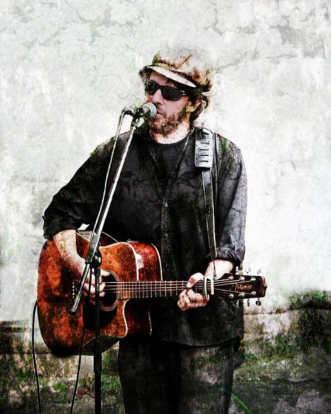 Mr Guitar Man by churchill123