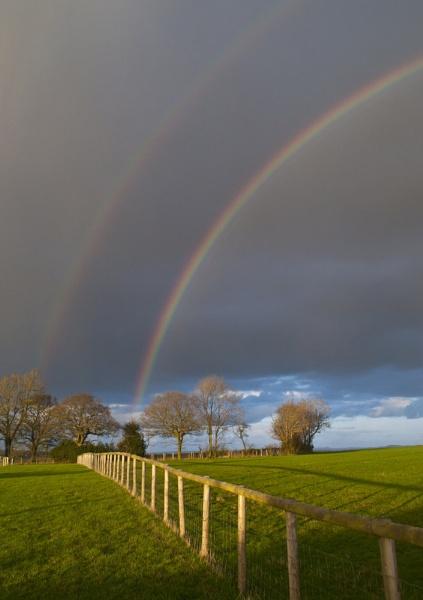 Double rainbow by neil john