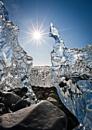 glacier, ice, iceland, Jökulsárlón Lagoon