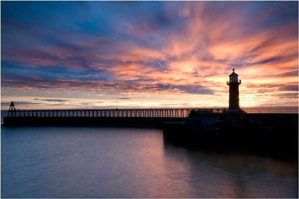 Whitby Silhouette by wharmby