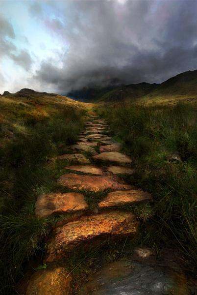 Yellow Brick Road by GoodallPhotography