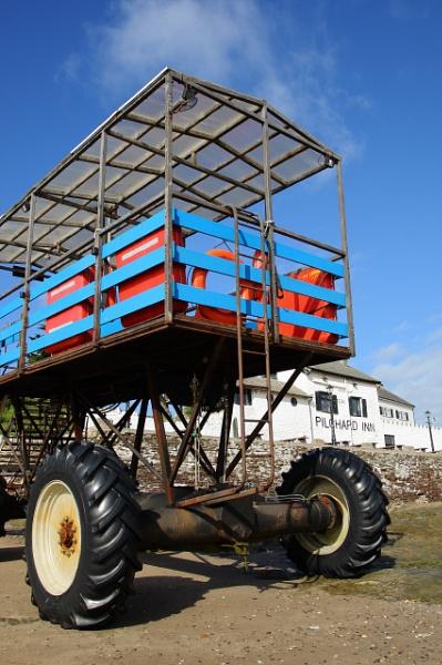 Burgh Island Sea Tractor by PeterJJ