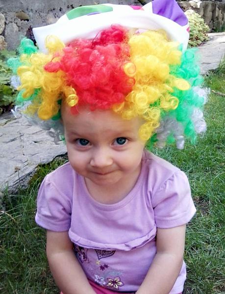 Emma the clown by DavidInBulgaria
