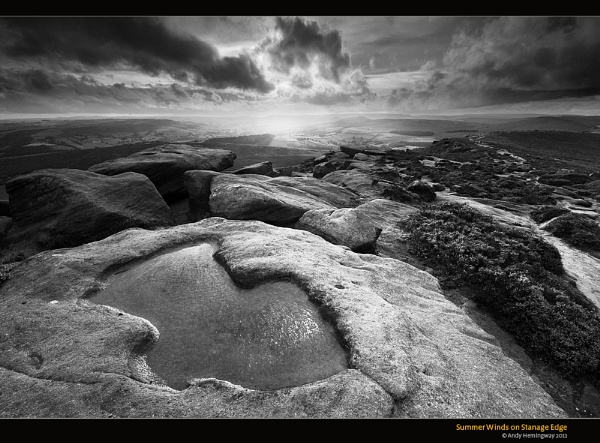 Summer Winds on Stanage Edge by andy_AHG