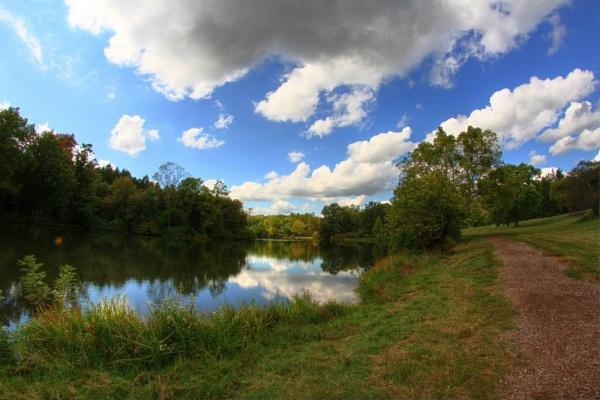 Lake Marmol Morton Arboretum by ShotfromaCanon