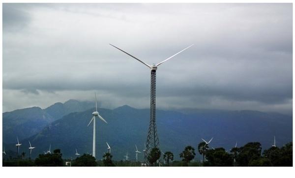 Windmill by rajishravi