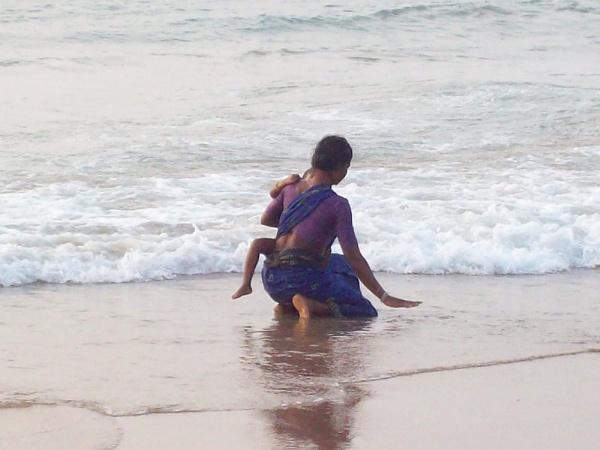 Sea is our God by ARGHYASIKDAR