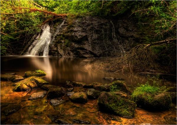 Secret Waterfall by ashley
