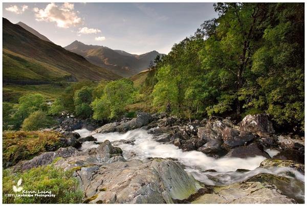 The River Shiel, Glen Shiel by Kevin_L