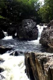Wales waterfall