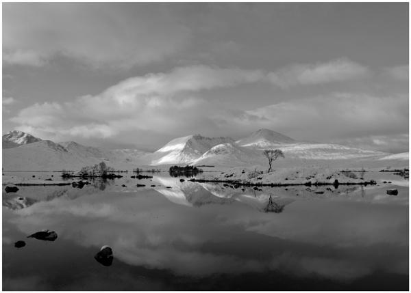 Back Mount Memory Monochrome... by Scottishlandscapes
