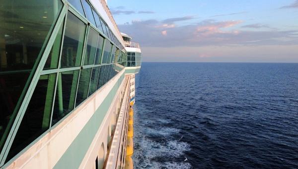 Cruising by Caledonia