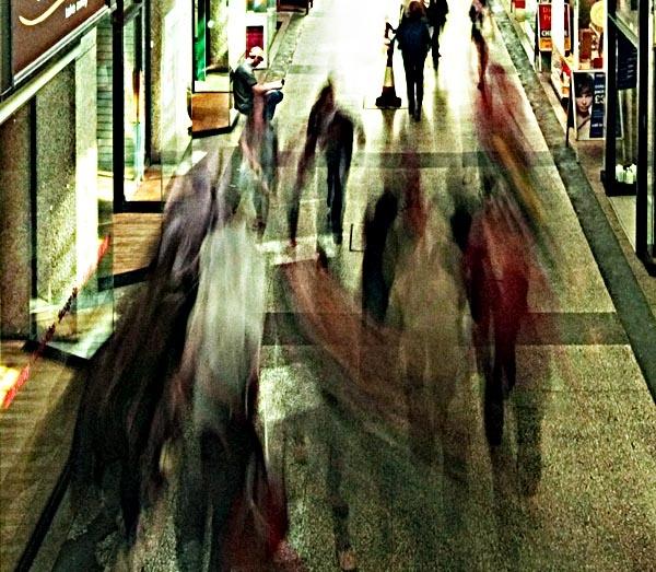 Shopshopshopshopshop!Shopping frenzy, Exeter. by StickyW