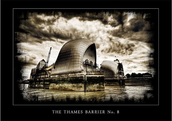 The Thames Barrier No. 8 by Phil_Rhodes