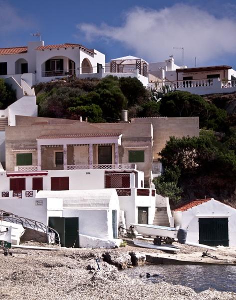 Menorcan coastal village by maggieh