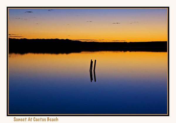 Sunset At Cactus Beach ~ South Australia by Joeblowfromoz