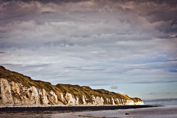 Danes Dyke white cliffs by mymindseye