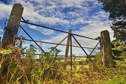 Nature reserve gate
