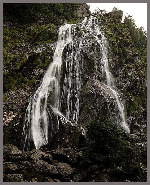 Powerscourt waterfall by EMAC