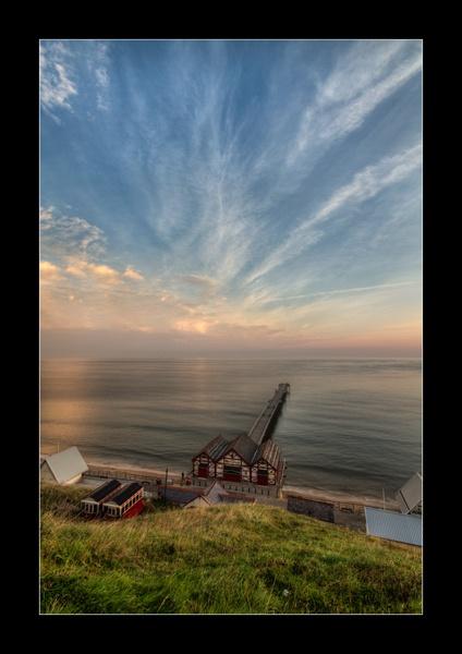 Saltburn Pier by ashley