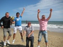 Jump around the beach;)