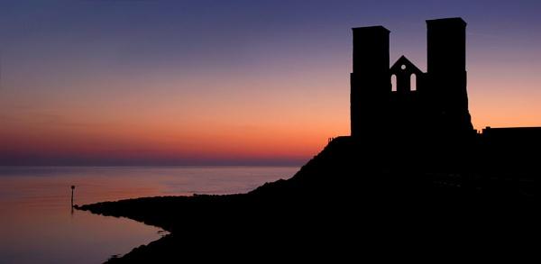 Reculver Sunrise by rjlaker