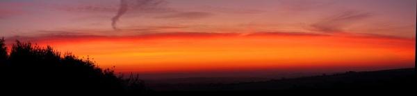 October Dawn by warbstowcross