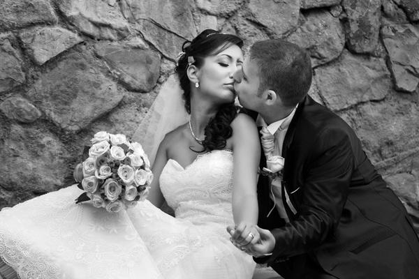 G&E wedding portrait by scata