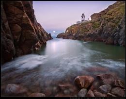 Moonrise at Fanad Lighthouse
