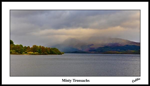 Misty Trossachs by cabbie