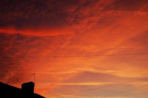 Morning Sky by cymroDan