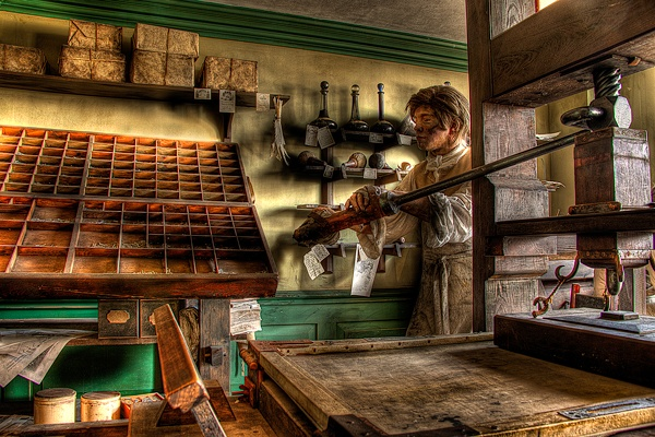 The Printers Apprentice by realgraphics