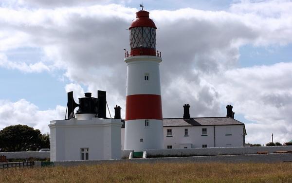 Souter Lighthouse and The Leas Coast Road, Whitburn, Sunderland, Tyne & Wear by billkouk