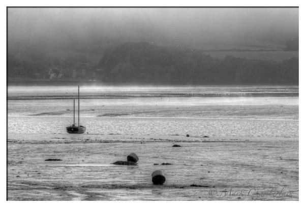 Misty Low Tide by marktc