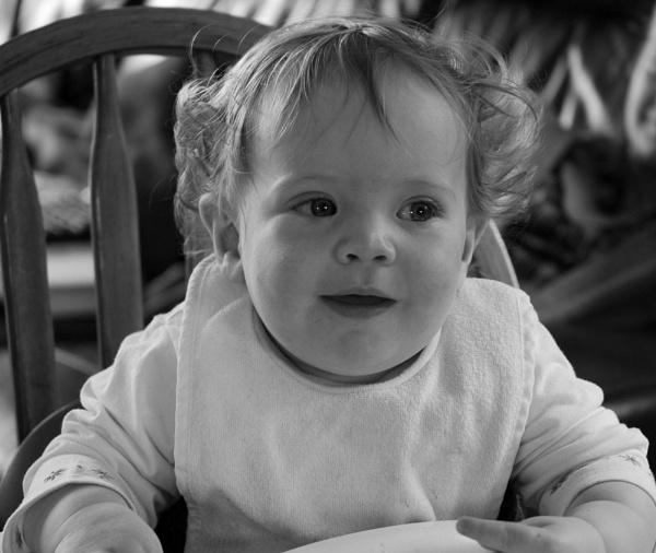 Happy baby by AliceLuisePhotography