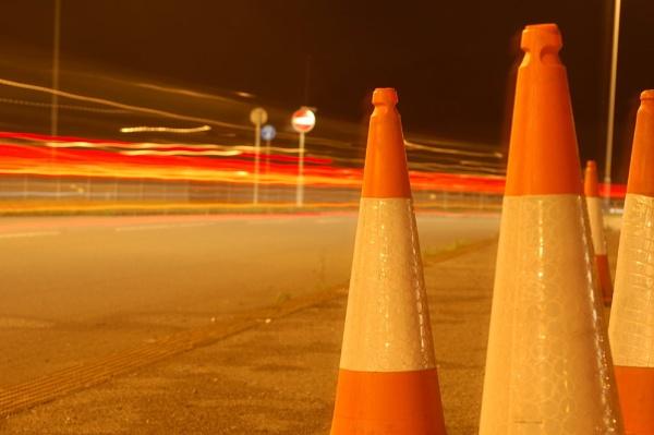Traffic by night by wayne2786