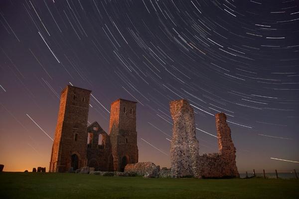 Reculver Star Trails by rjlaker